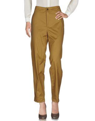 GOLDEN GOOSE DELUXE BRAND Damen Hose Farbe Khaki Größe 5