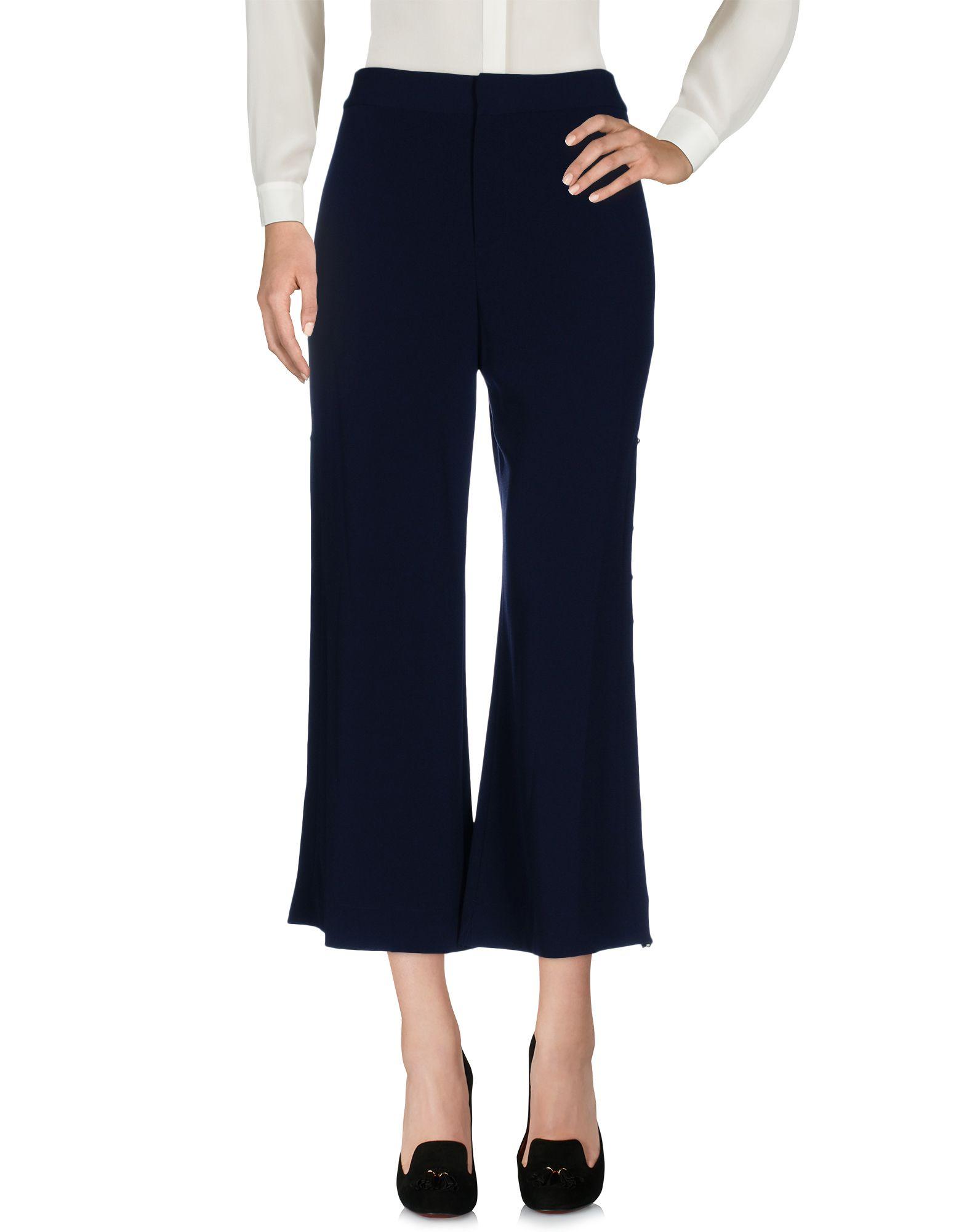 DEREK LAM 10 CROSBY Повседневные брюки derek lam 10 crosby расклешенные брюки в полоску