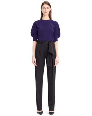 LANVIN Top D KNIT AND FRILL TOP F