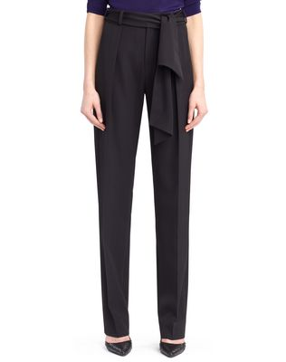 LANVIN WOOL GABARDINE PANTS Trousers D r