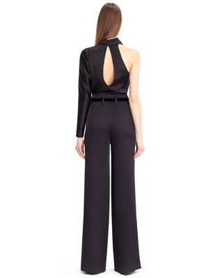 LANVIN SATIN SABLE PANTS Pants D d