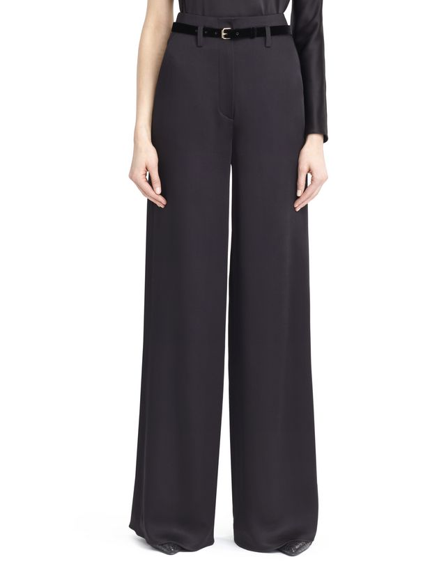 LANVIN SATIN SABLE PANTS Pants D r