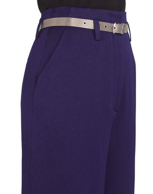 LANVIN HAMMERED CREPE PANTS Pants D a