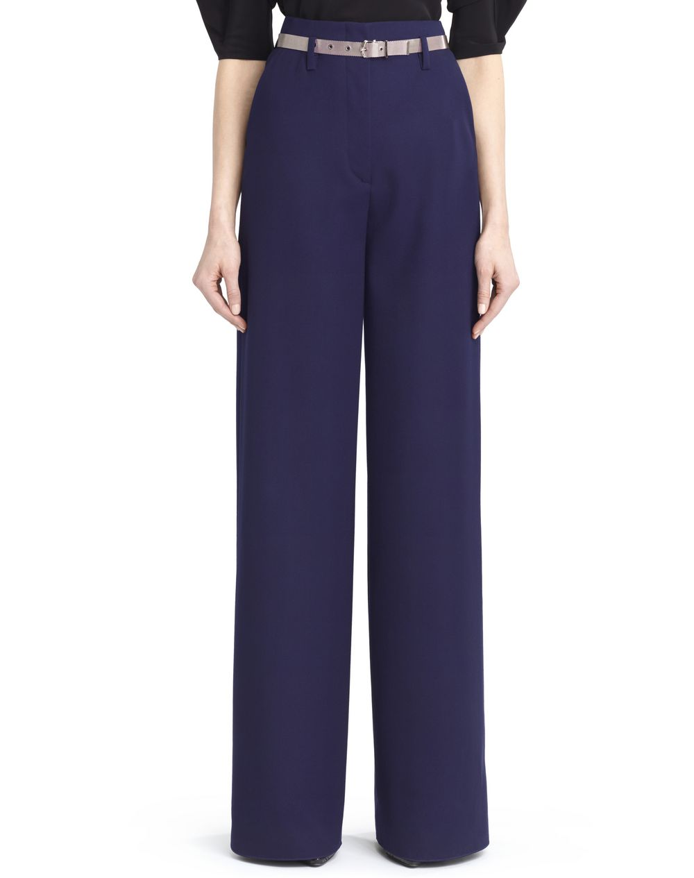 HAMMERED CREPE PANTS - Lanvin