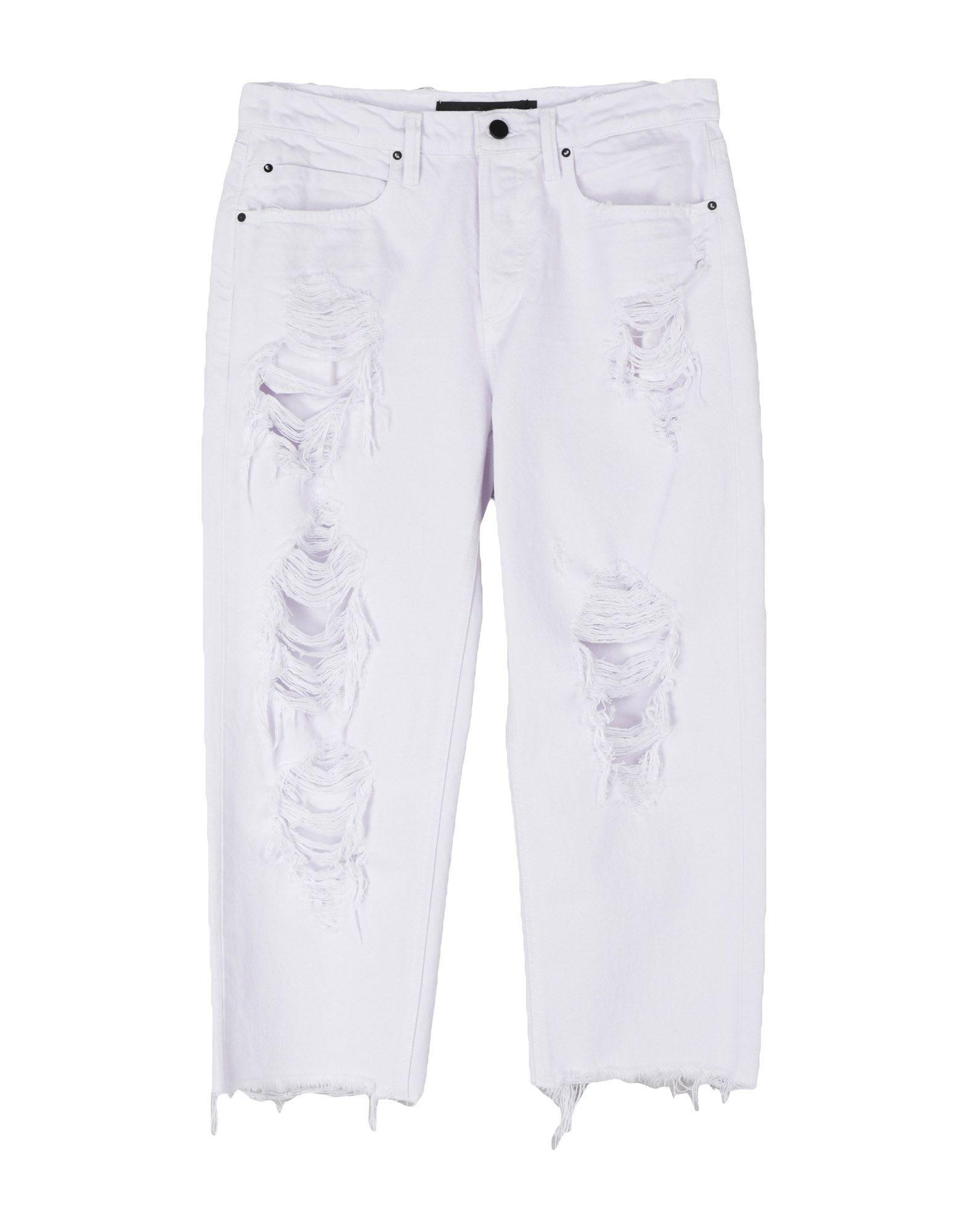 цены на ALEXANDER WANG Джинсовые брюки-капри  в интернет-магазинах