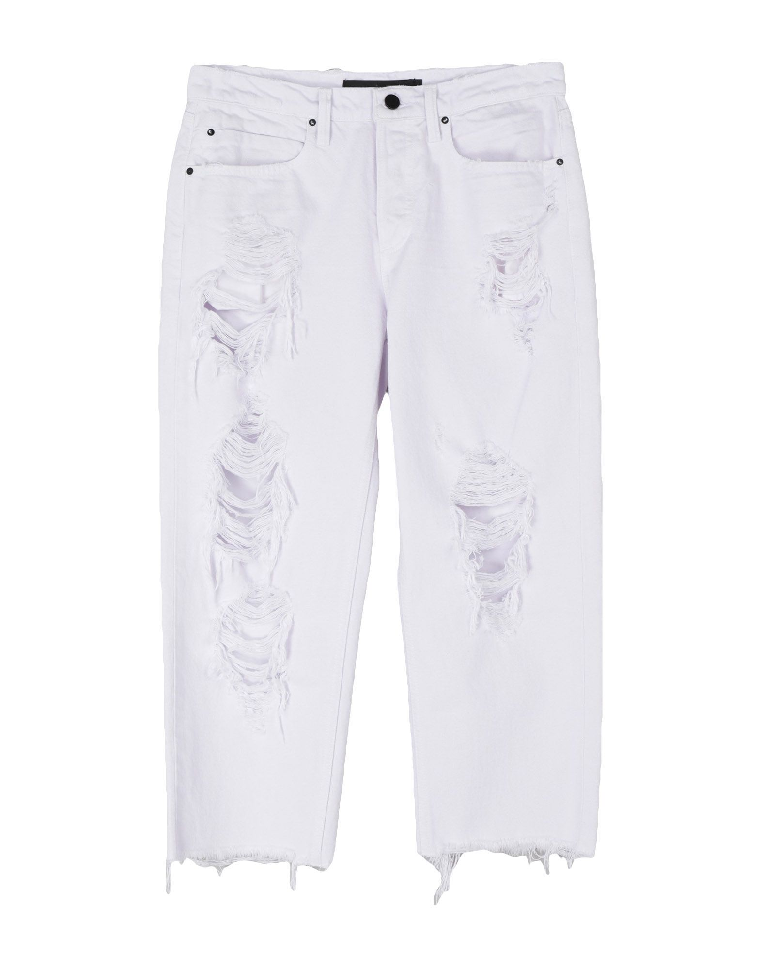 ALEXANDER WANG Джинсовые брюки-капри цена 2017