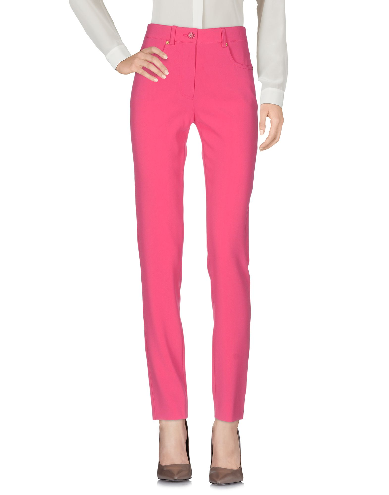 MOSCHINO CHEAP AND CHIC Casual Pants in Fuchsia