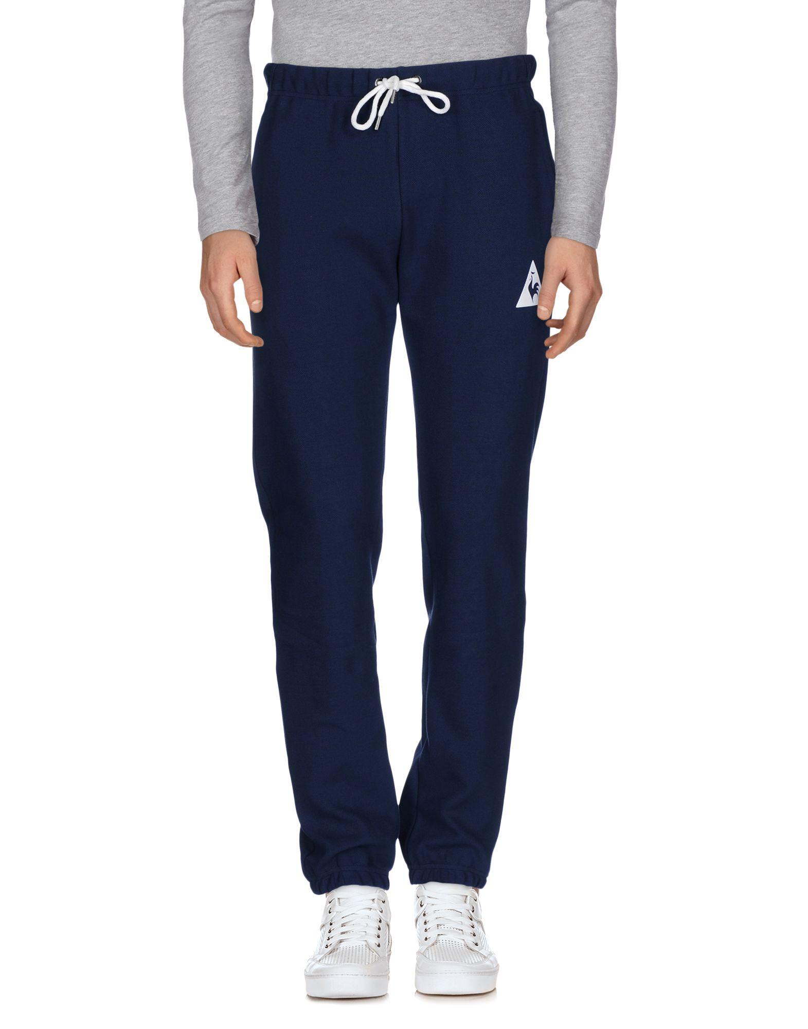 《セール開催中》LE COQ SPORTIF メンズ パンツ ダークブルー M コットン 92% / ポリウレタン 8%