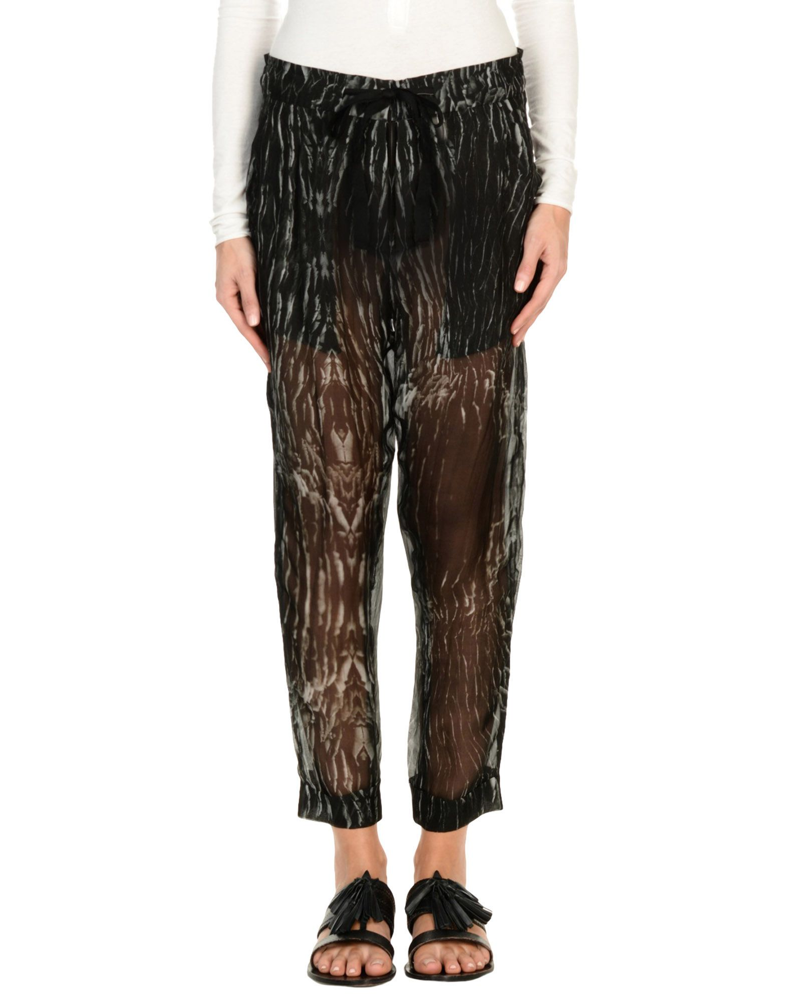 ANN DEMEULEMEESTER Повседневные брюки