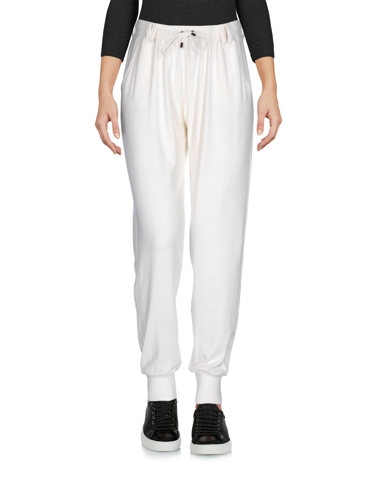 PLEIN SUD JEANIUS Casual Pants in Ivory