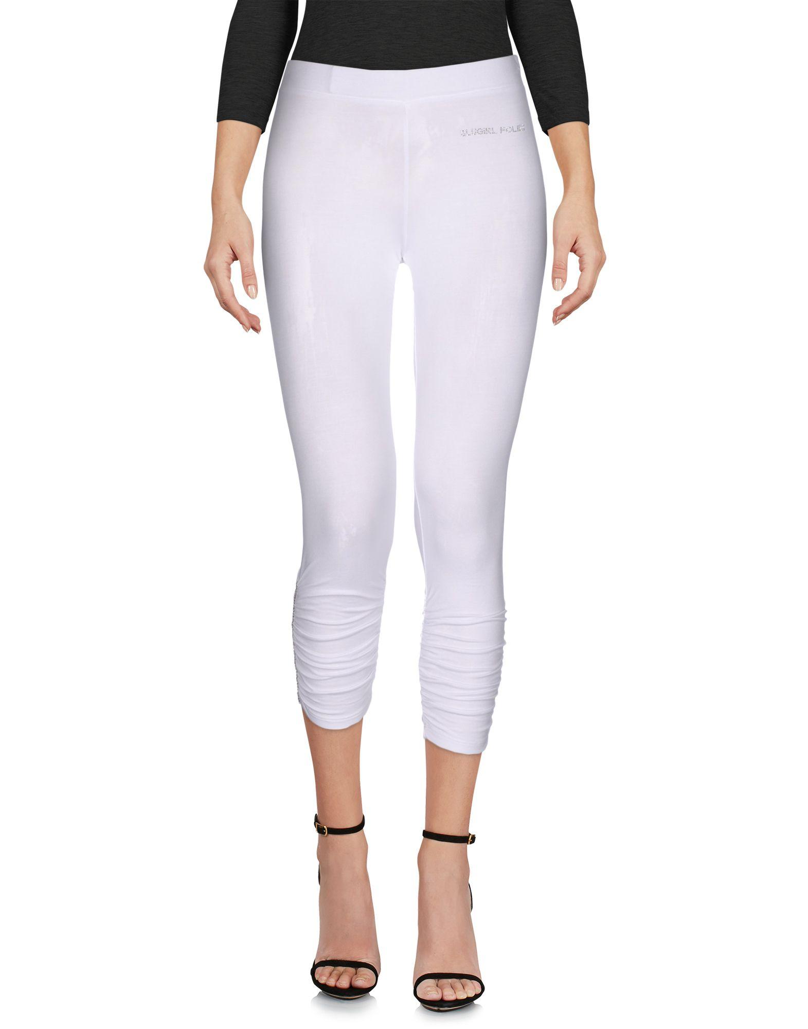 BLUGIRL FOLIES Damen Leggings Farbe Weiß Größe 2