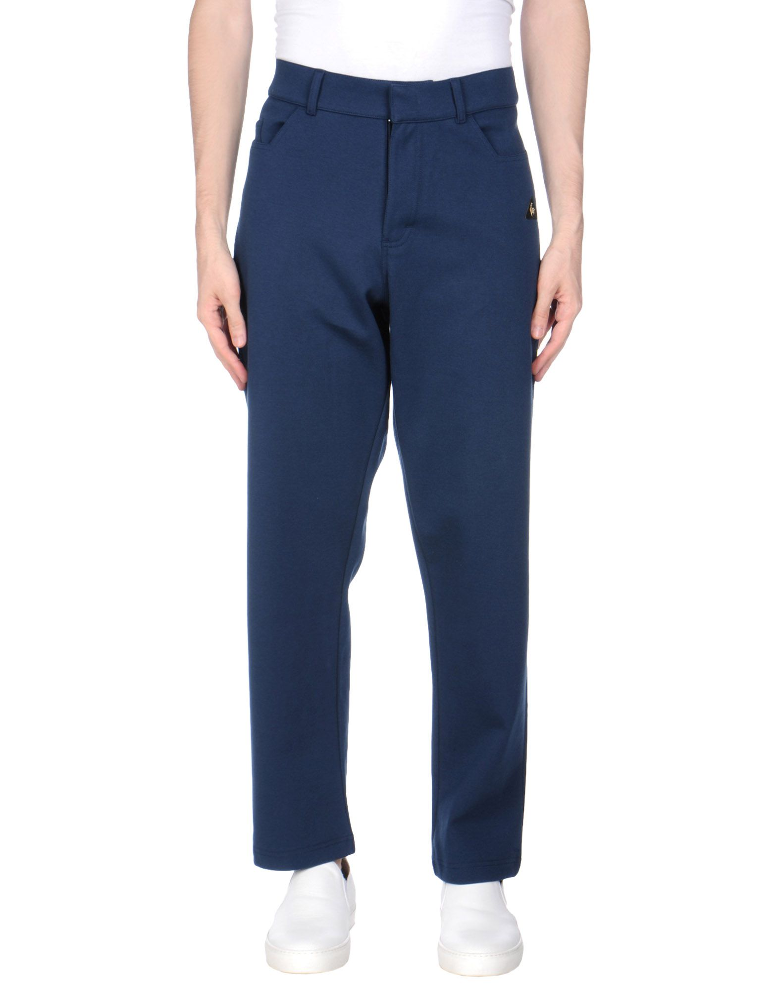 《期間限定セール開催中!》LE COQ SPORTIF メンズ パンツ ダークブルー 42 コットン 98% / ポリウレタン 2%