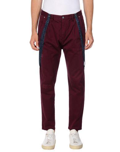 Купить Повседневные брюки от GEAN.LUC цвет баклажанный