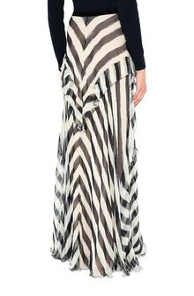 ALBERTA FERRETTI Long striped skirt SKIRT D d