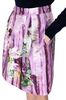 ALBERTA FERRETTI Knee-length floral skirt SKIRT Woman a
