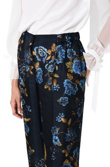 ALBERTA FERRETTI BLOOM PYJAMAS PANTS PANTS Woman a