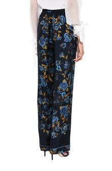 ALBERTA FERRETTI BLOOM PYJAMAS PANTS TROUSERS Woman d