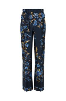 ALBERTA FERRETTI BLOOM PYJAMAS PANTS TROUSERS Woman e