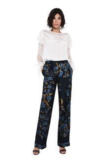 ALBERTA FERRETTI BLOOM PYJAMAS PANTS TROUSERS Woman f