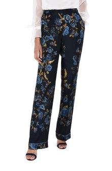 ALBERTA FERRETTI BLOOM PYJAMAS PANTS TROUSERS D r