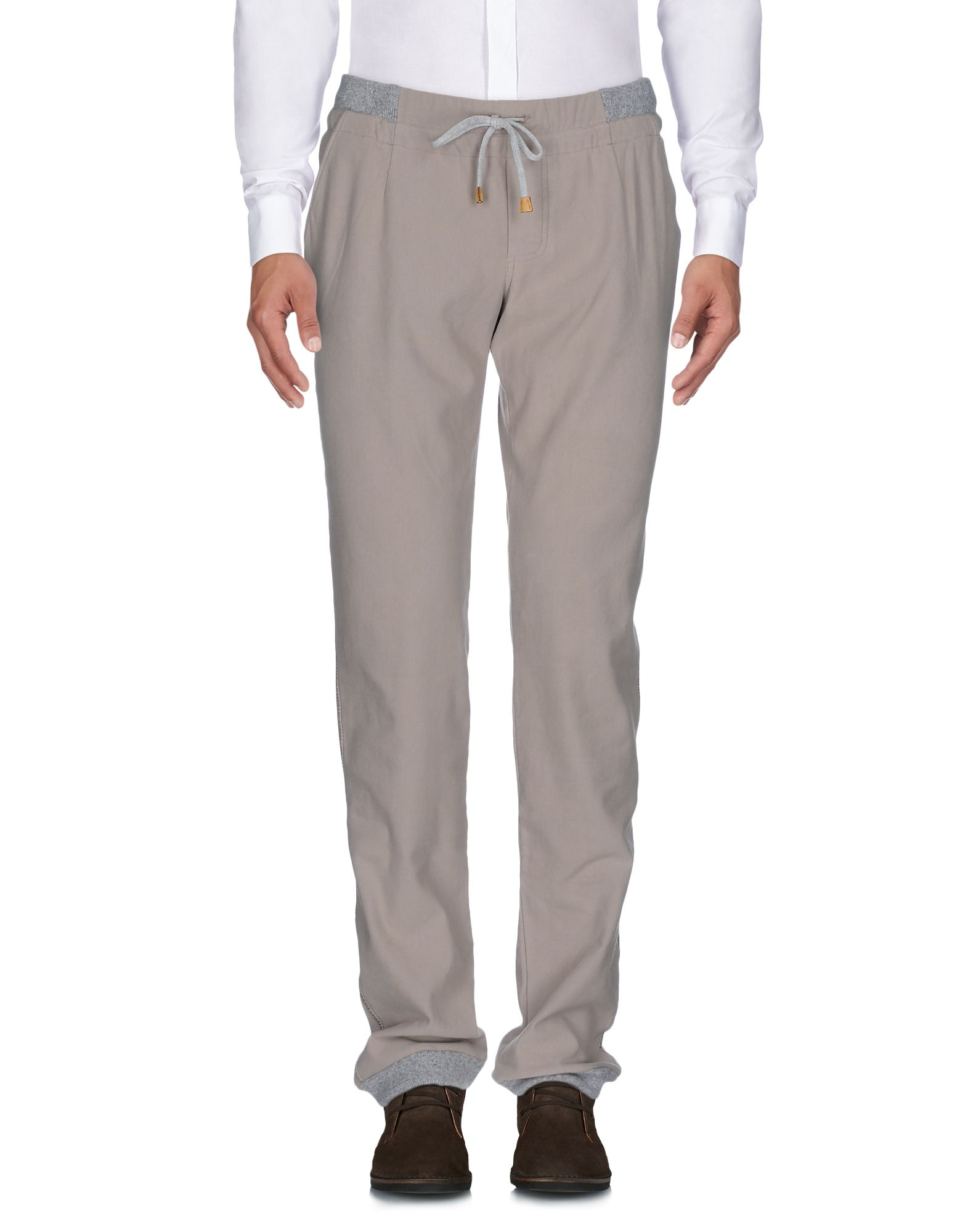 CAPOBIANCO Casual Pants in Sand