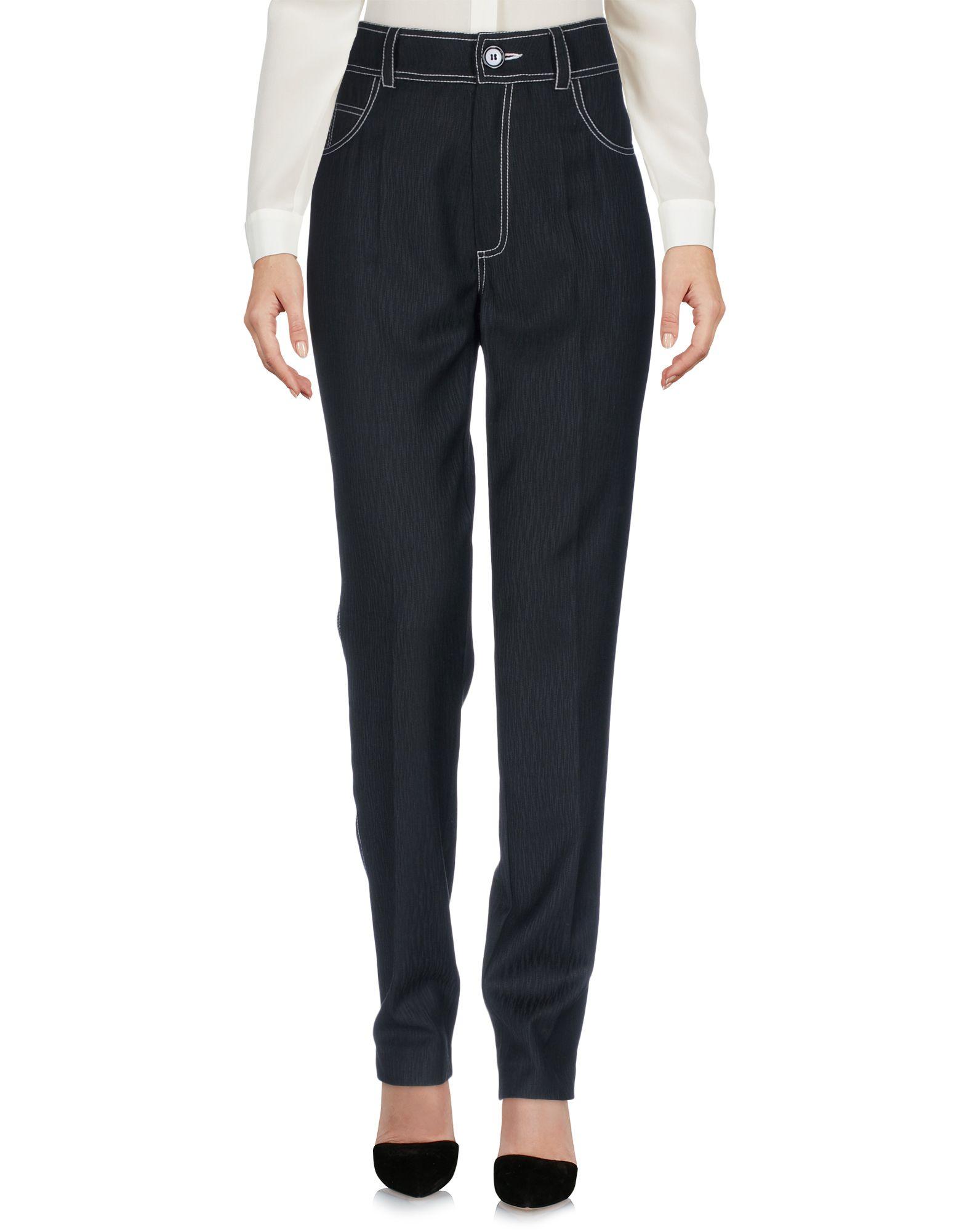 ANNE SOFIE MADSEN Casual Pants in Black