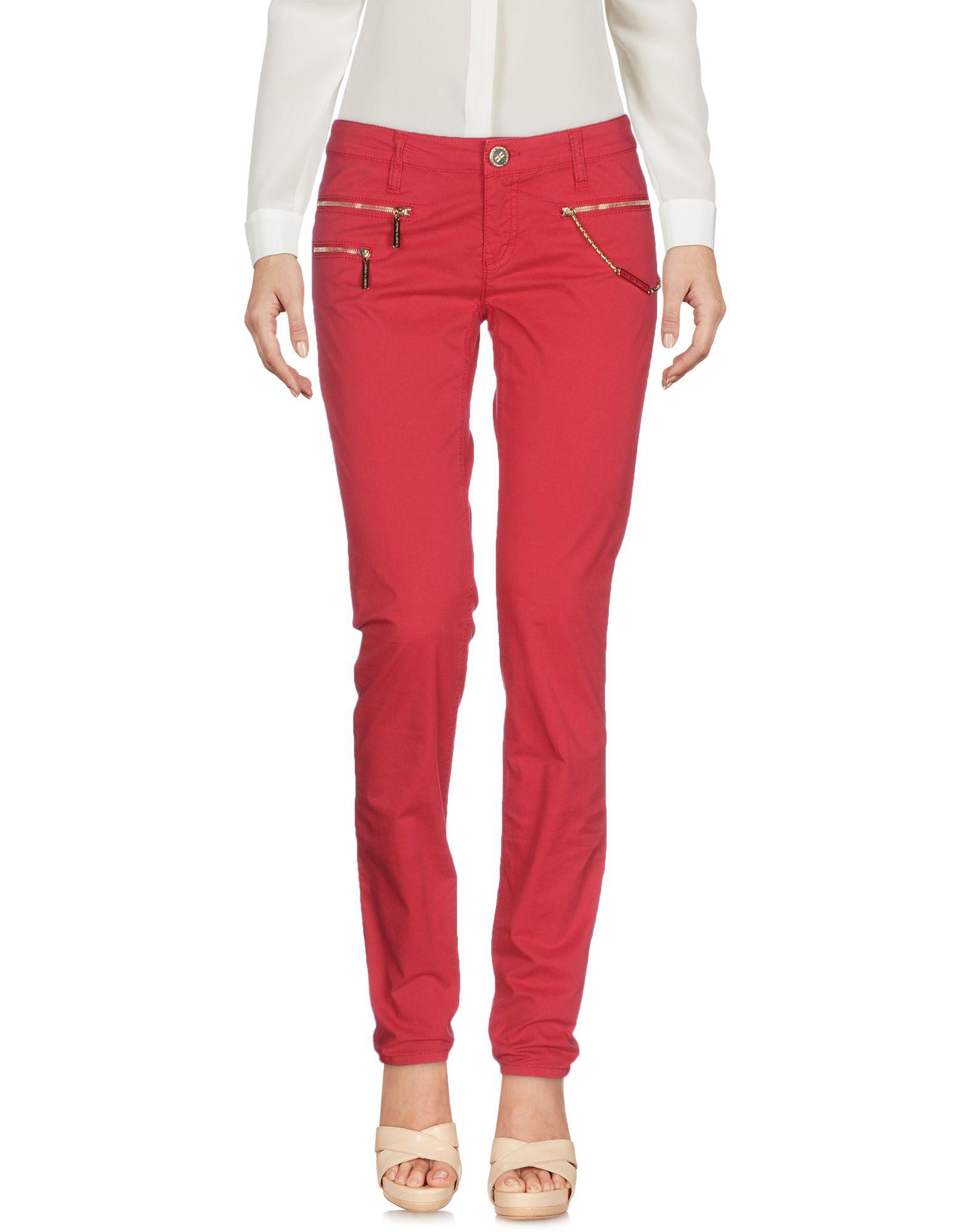 цена ELISABETTA FRANCHI JEANS for CELYN B. Повседневные брюки онлайн в 2017 году