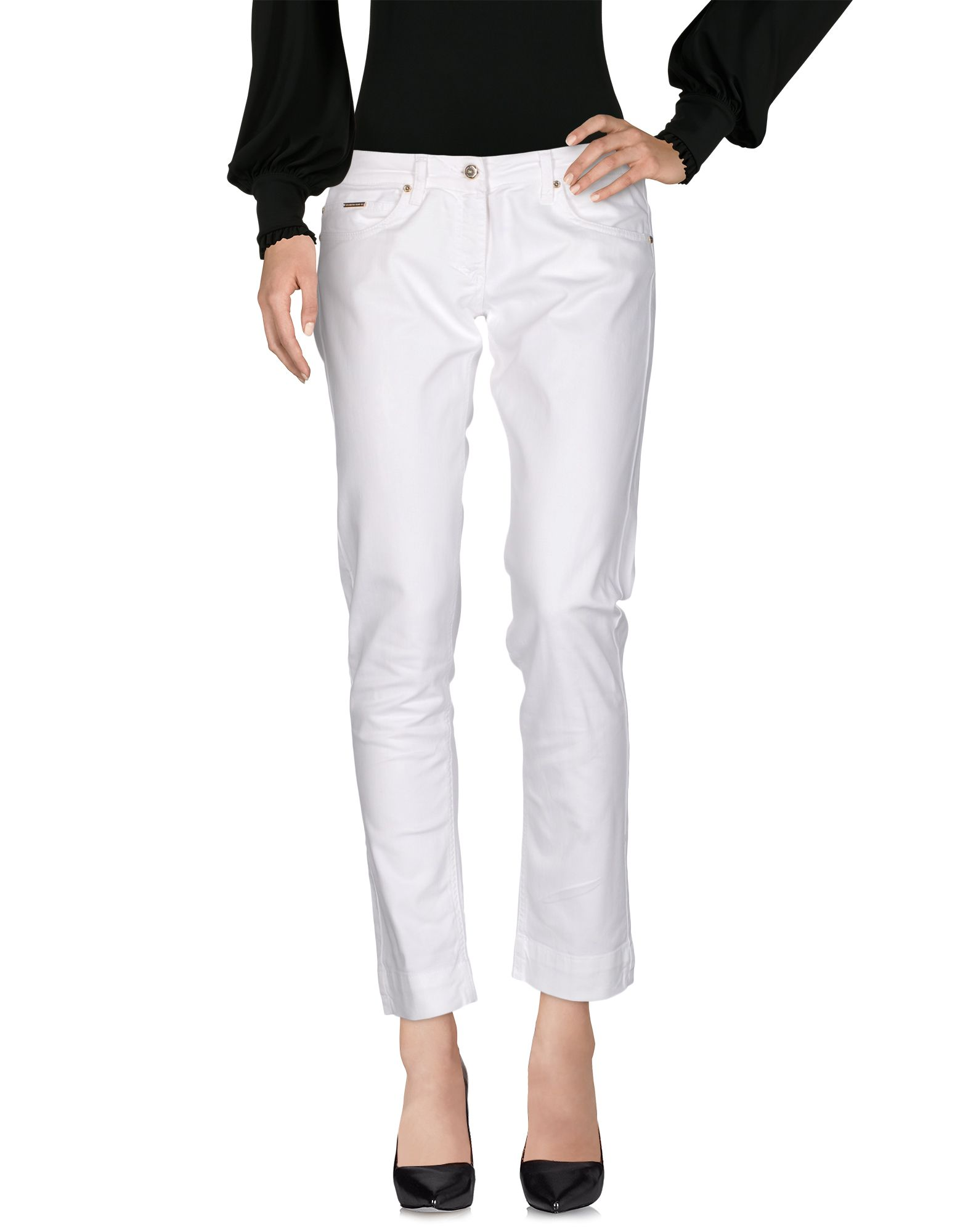 ELISABETTA FRANCHI JEANS for CELYN B. Повседневные брюки elisabetta franchi jeans for celyn b брюки капри