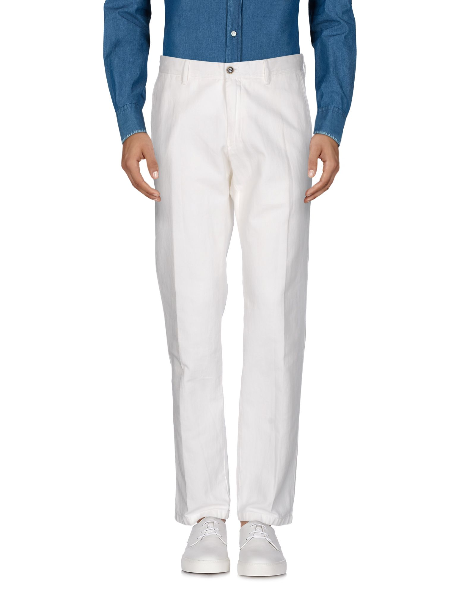 OSCAR JACOBSON Casual Pants in Ivory