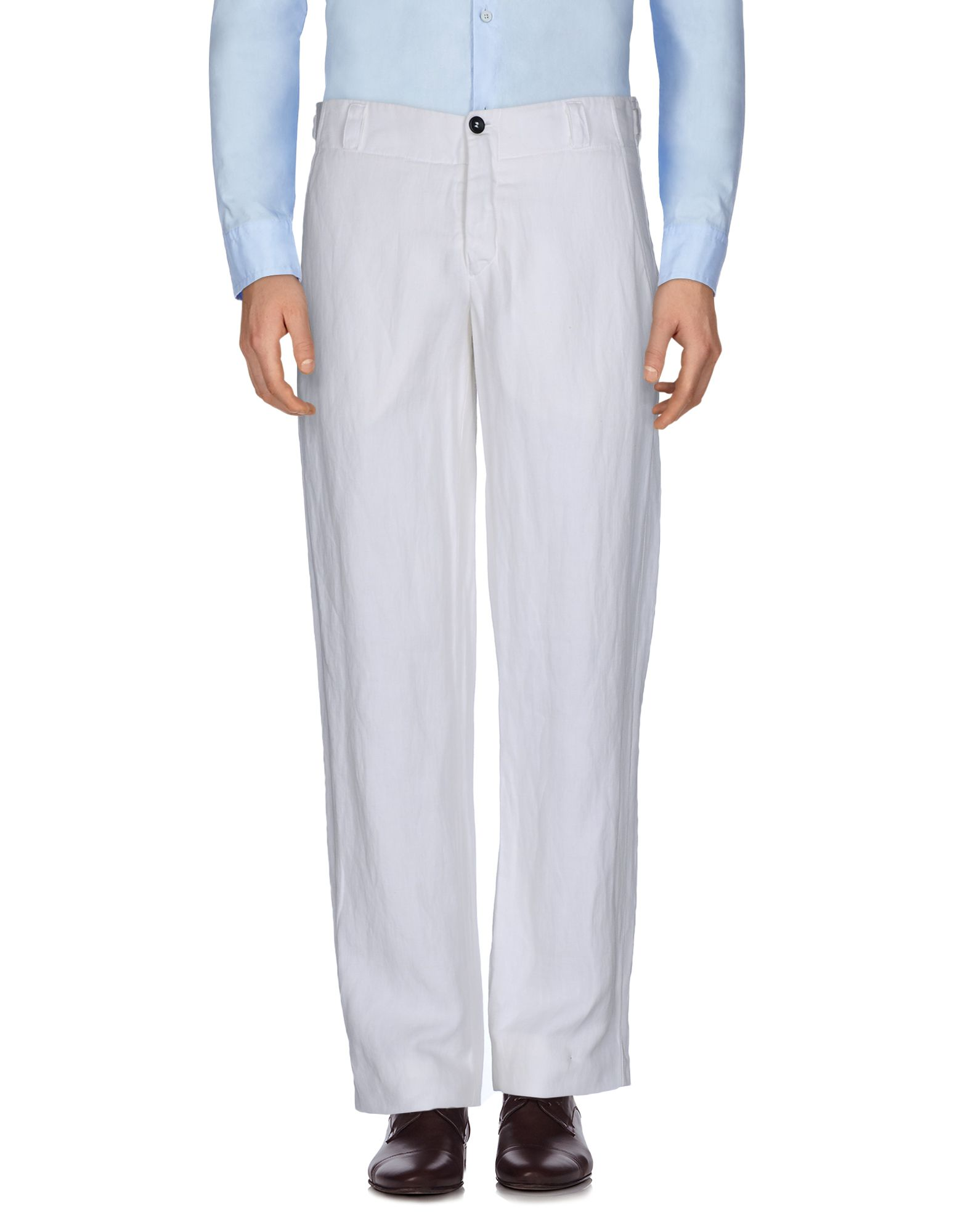 HANNES ROETHER Casual Pants in White
