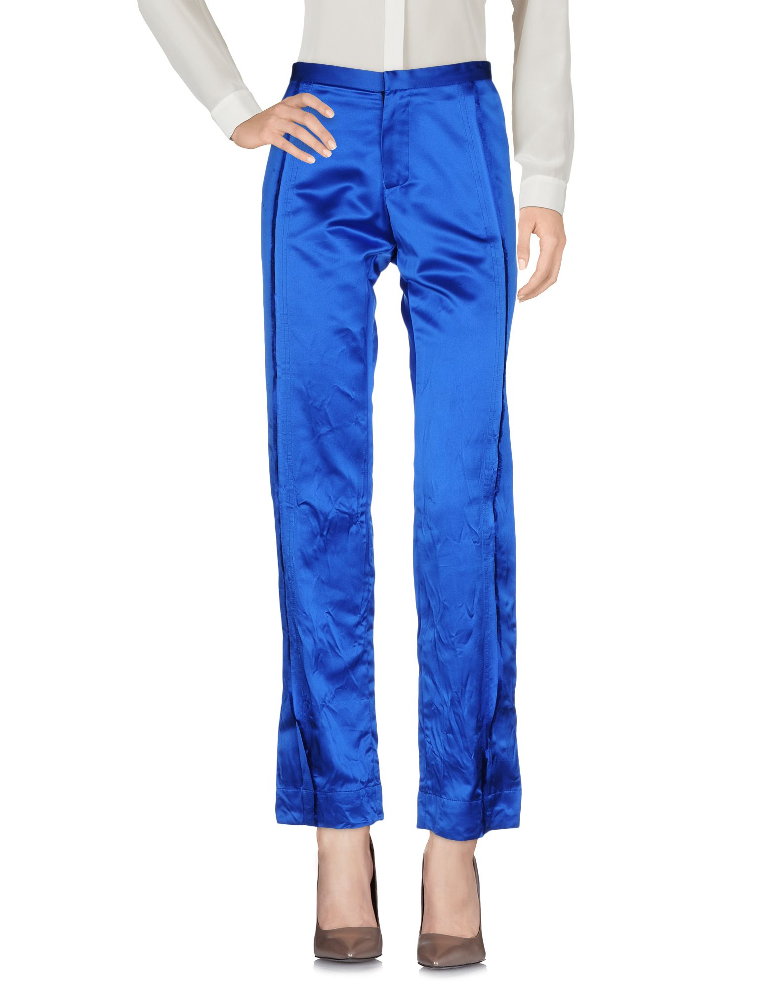 MARTINA SPETLOVA Casual Pants in Bright Blue