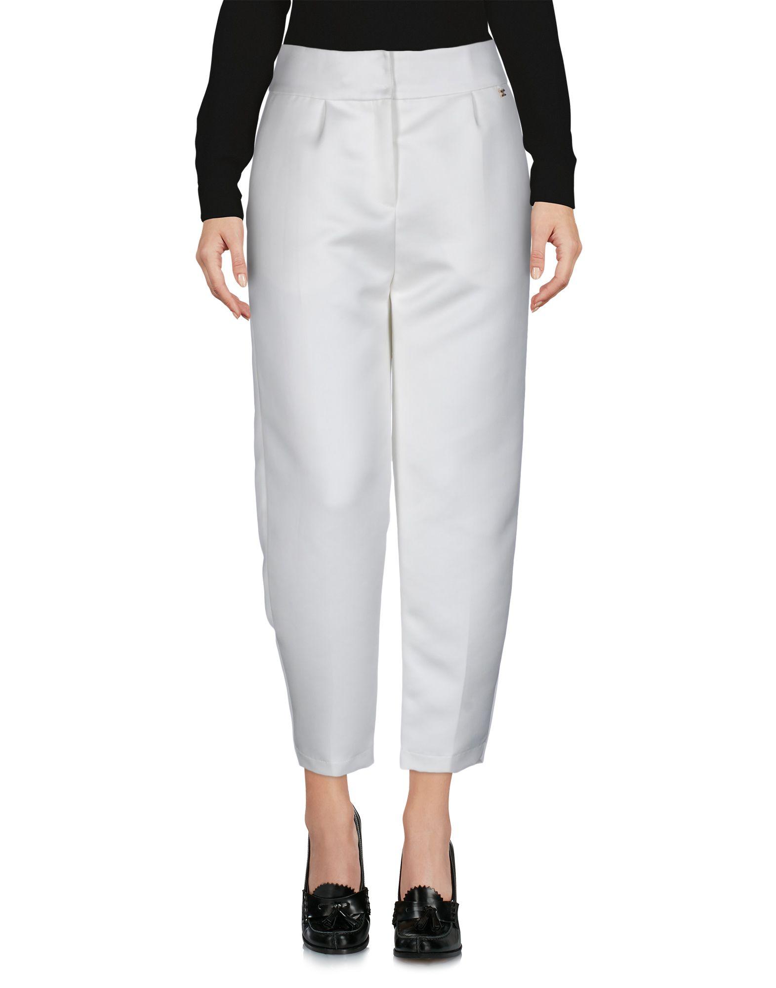 ELISABETTA FRANCHI GOLD Повседневные брюки elisabetta franchi брюки с вышивкой