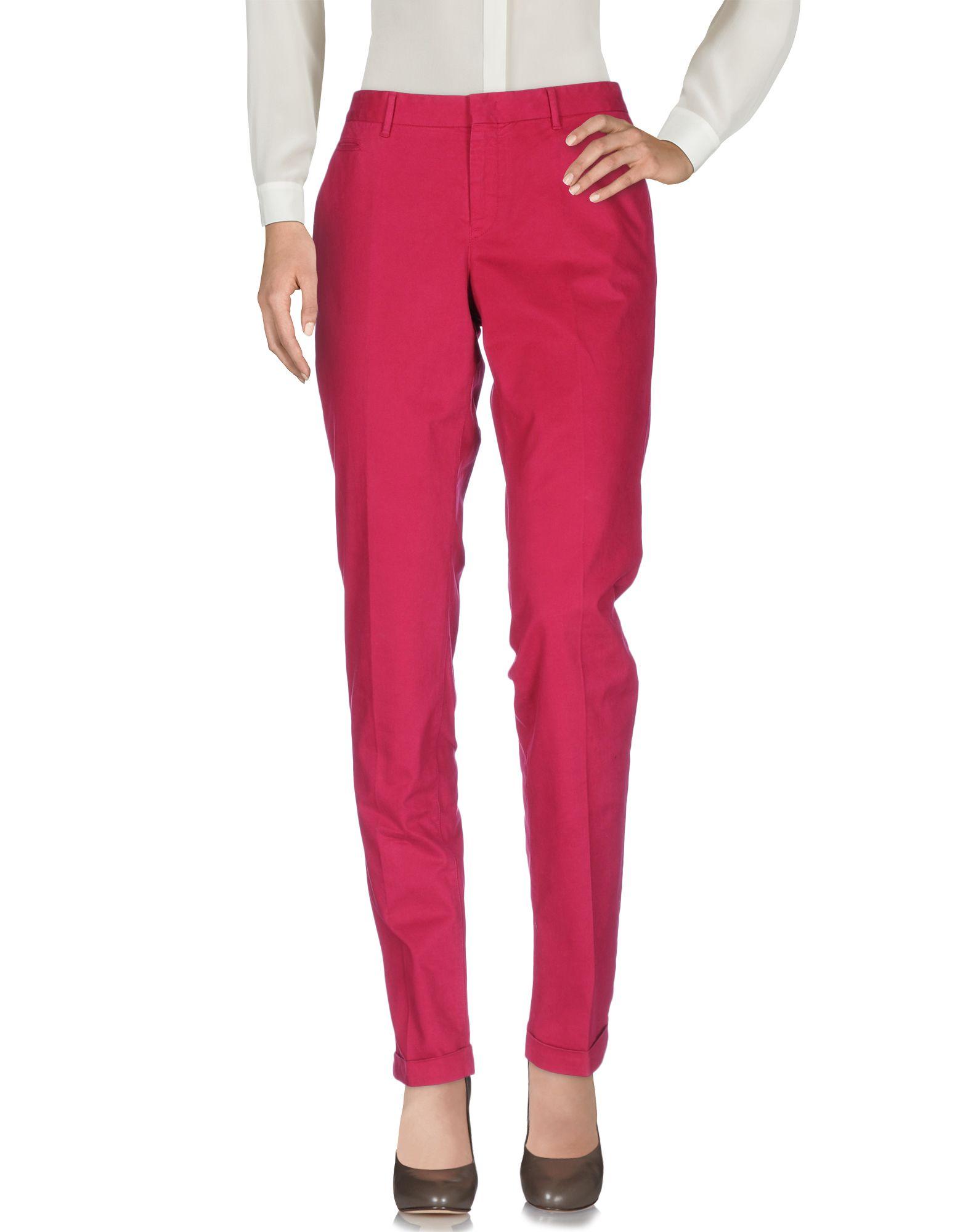 PT0W Casual Pants in Fuchsia
