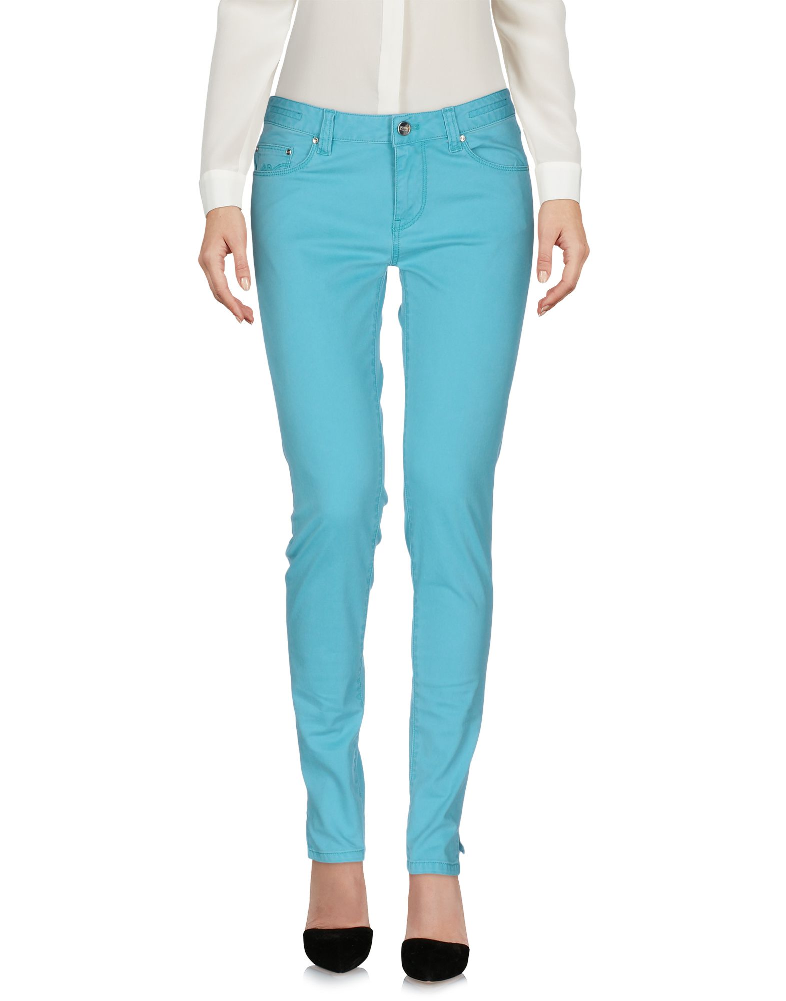 PT0W Casual Pants in Turquoise