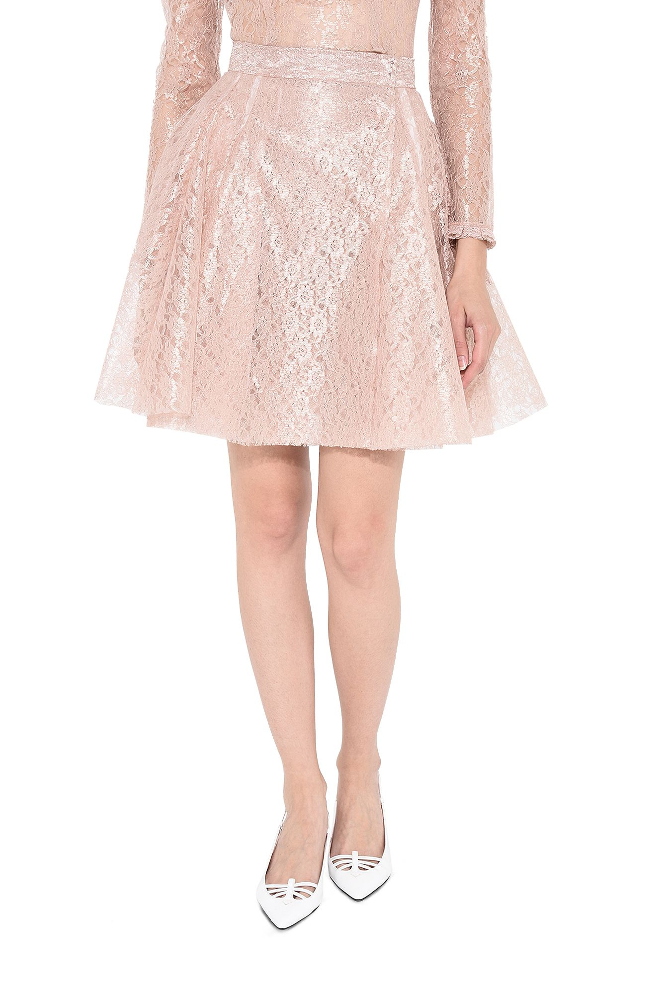PHILOSOPHY di LORENZO SERAFINI SKIRT D Romantic skirt in lace r