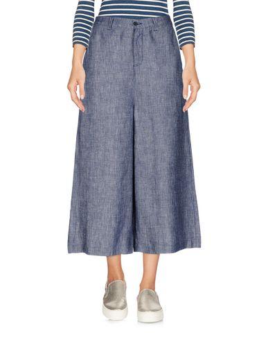Джинсовые брюки-капри от 120% LINO