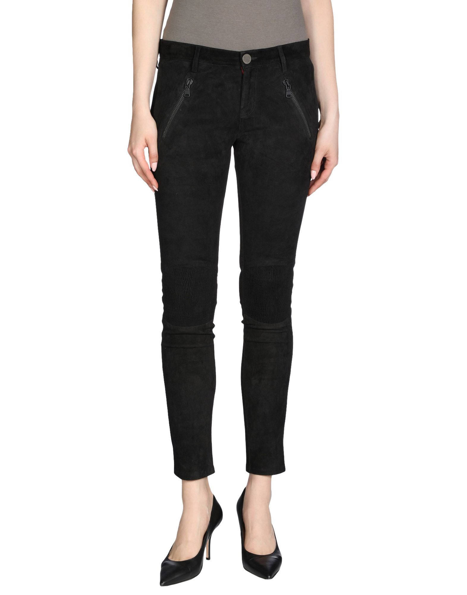 ETIENNE MARCEL Casual Pants in Black
