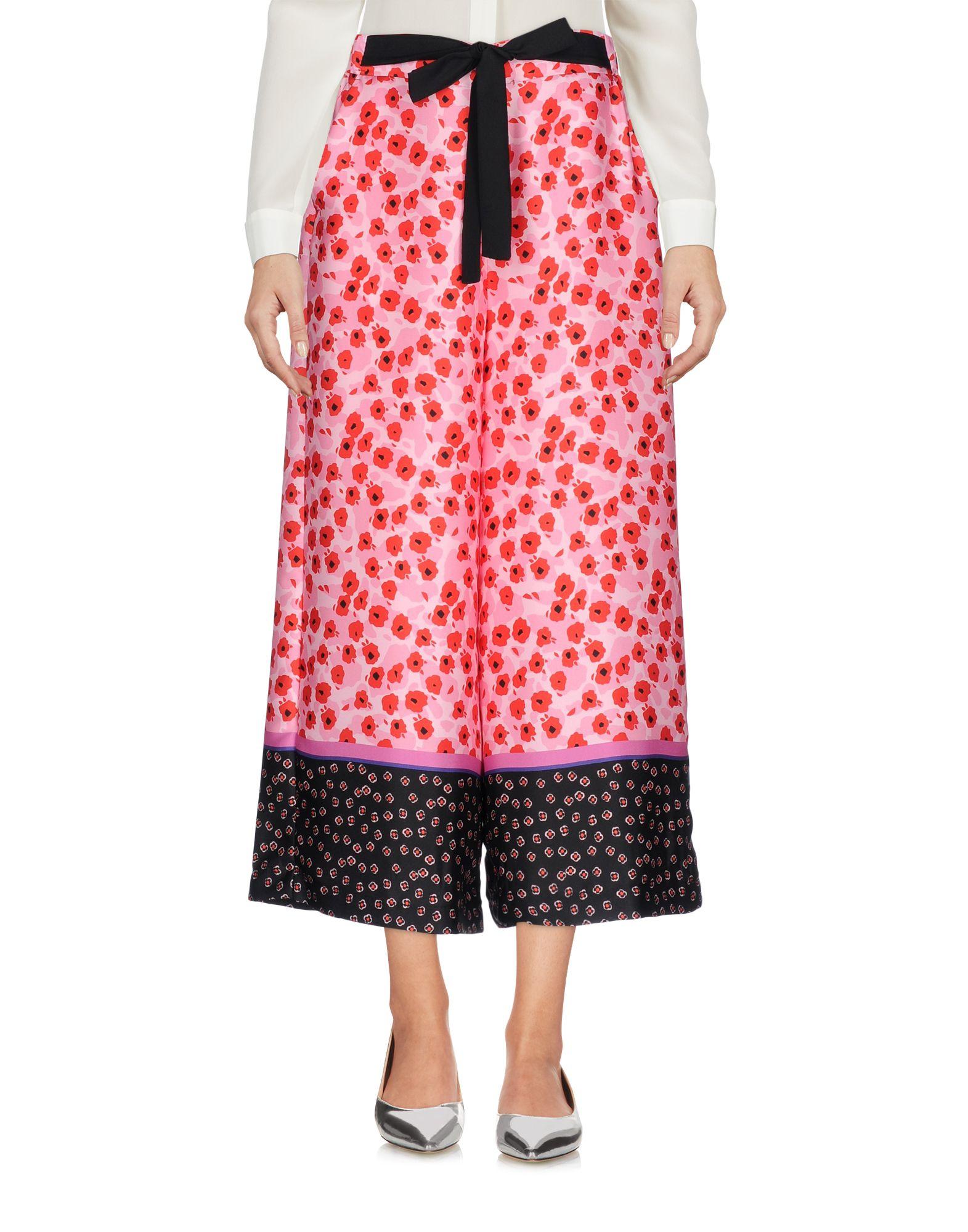 VICOLO Damen Caprihose Farbe Rosa Größe 5