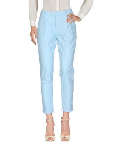 Фото - Повседневные брюки от OAKS небесно-голубого цвета