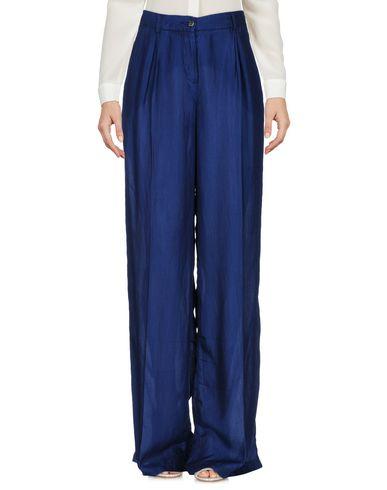 Фото - Повседневные брюки от KAOS JEANS темно-синего цвета