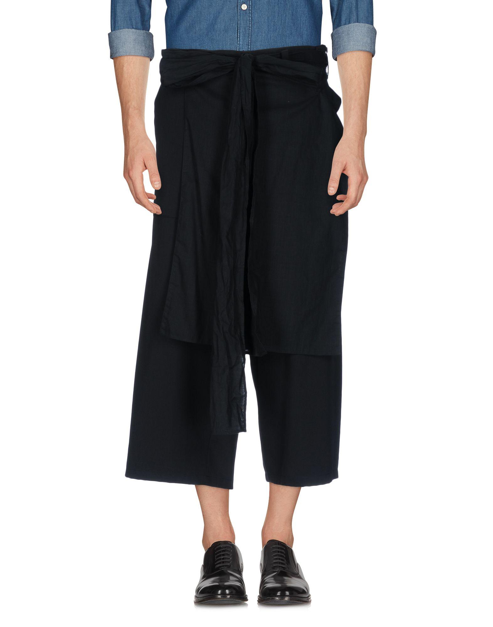 купить YOHJI YAMAMOTO POUR HOMME Повседневные брюки по цене 77000 рублей