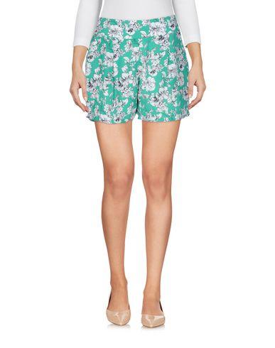 Фото - Повседневные шорты от CUTIE зеленого цвета