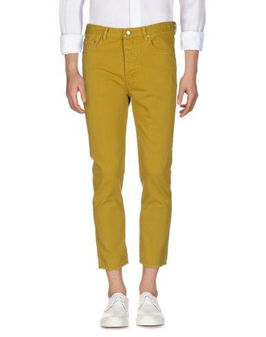 Фото - Джинсовые брюки цвет охра