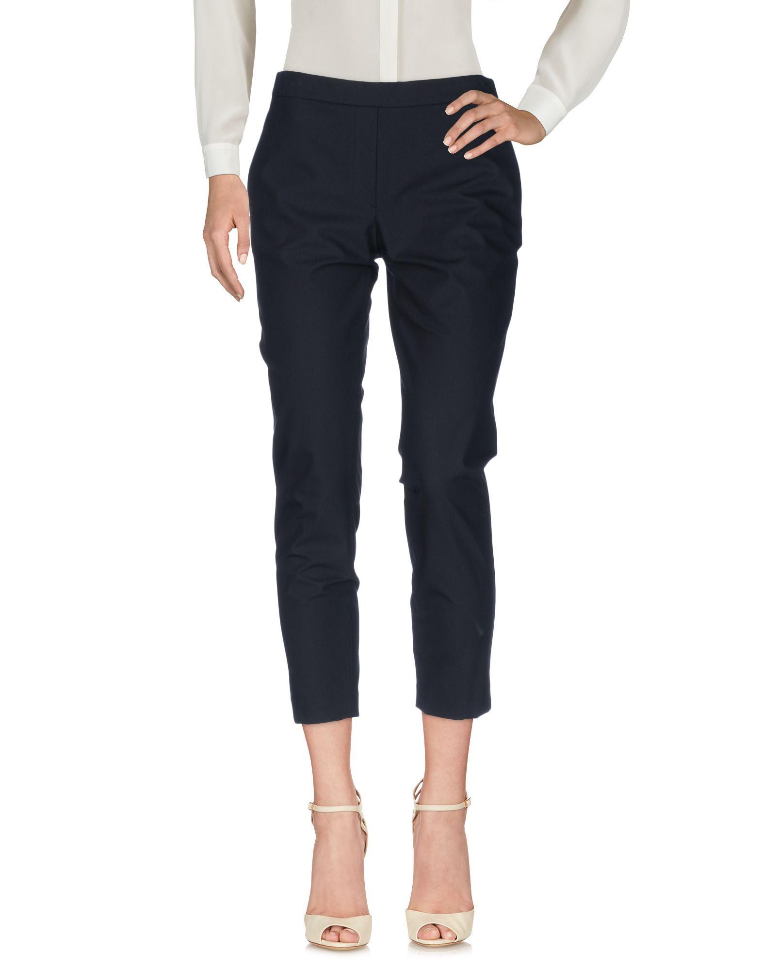 THEORY Повседневные брюки theory черные брюки со штрипками