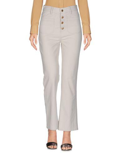 Фото - Повседневные брюки от SWILDENS цвет слоновая кость