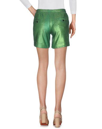 Фото 2 - Повседневные шорты зеленого цвета