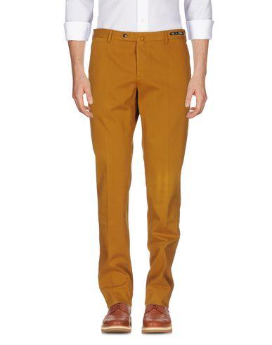 Фото - Повседневные брюки от PT01 цвет охра