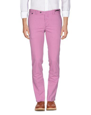 Фото - Повседневные брюки от PT01 светло-фиолетового цвета