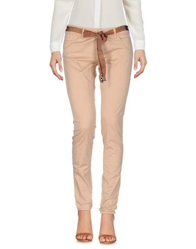 Фото - Повседневные брюки от TWIN-SET JEANS бежевого цвета