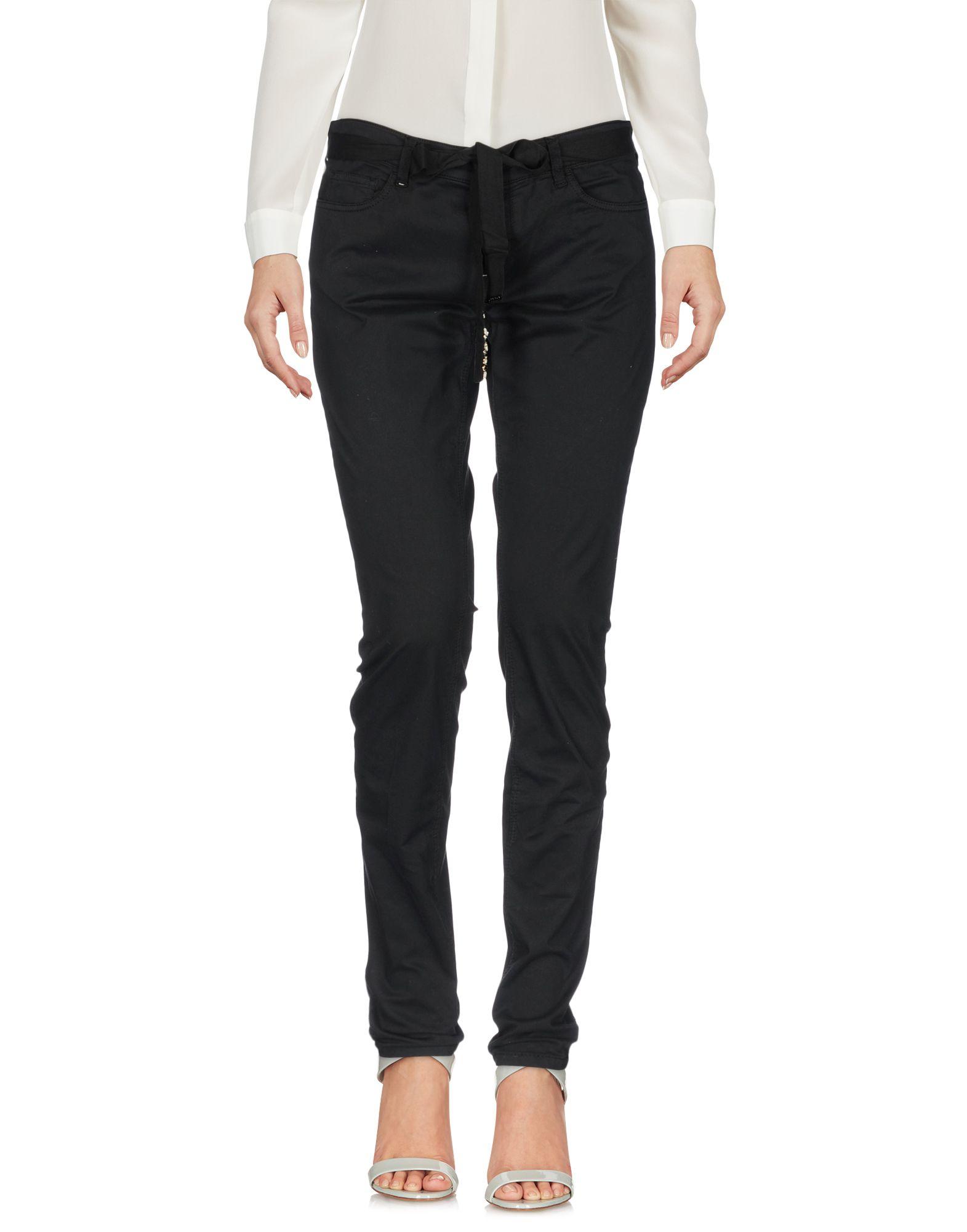TWIN-SET JEANS Повседневные брюки цена 2017